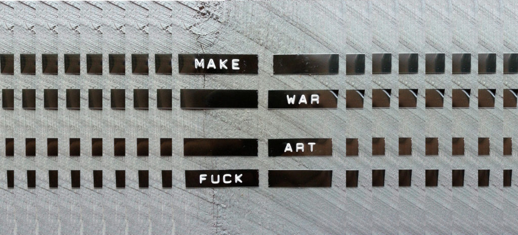 Make Art Fuck War